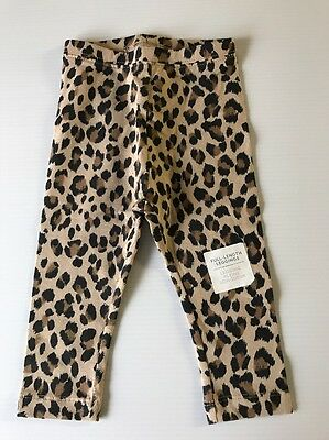 Old Navy Toddler Girl's Leggings Pants Size 12-18 month NEW *SUPER CUTE* Leopard