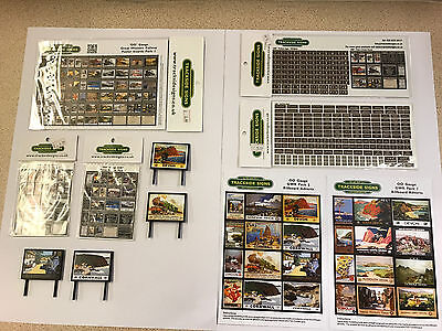 GWR - Model Railway Bundle Pack - OO Gauge - Trackside Signs - Bargain Price