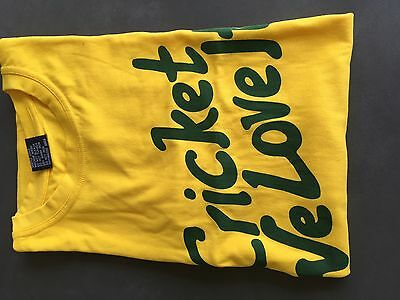 Cricket Australia Men's Supporter T-Shirt - Size XL
