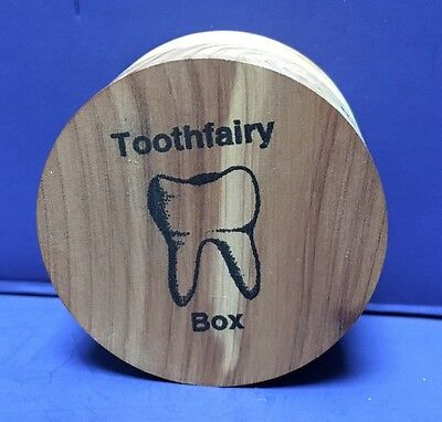 Small Wooden Tooth Fairy Box from the International Peace Garden