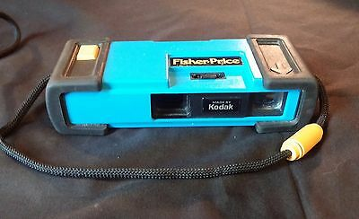 Vintage Kids Camera Fisher Price Tough Blue Works Tested Free Shipping 100