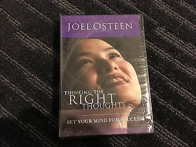 Thinking The Right Thoughts by Joel Osteen Audio Book New in Shrink Wrap