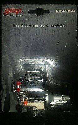 GMP 1/18 Blown Ford SOHC 427ci Engine and Transmission