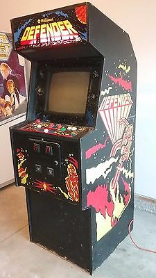 Williams Defender Arcade Upright Machine