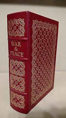 War and Peace (Tolstoy) - Easton Press Leather Book - Like New