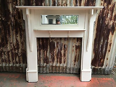 Timber Mantle For Fireplace 1330w X 1450h Internal Space 880w X 910h