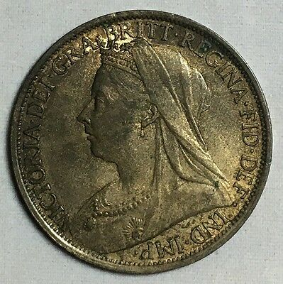 1895 Great Britain Penny High Grade Coin