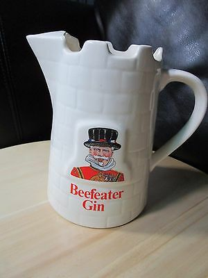 Vintage Beefeater Gin Castle Pitcher - Wade Made in England