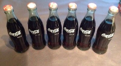Coca-Cola International Edition 6 Bottles Very Hard to Find