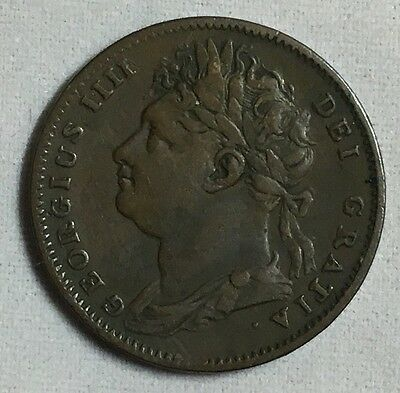 Great Britain 1822 Farthing Coin
