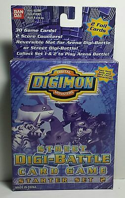 Digimon Digi-Battle Card Game Street Starter Deck 2 Complete Set 30/30 NM+