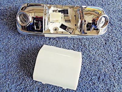 MINT OEM Original Ford 70's-80's Models CHROME METAL Dome Map Light Lamp Switch