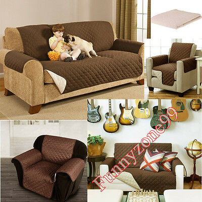 Waterproof Sofa Protector Cover Non-slip Armchair Couch Furniture Protection Mat