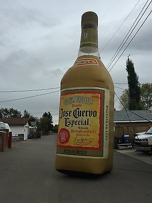 Used Huge Jose Cuervo Tequila Inflatable Blow Up Sign Advertising