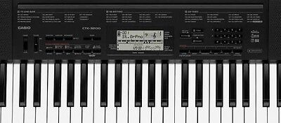 Casio Electronic Keyboard CTK 3200