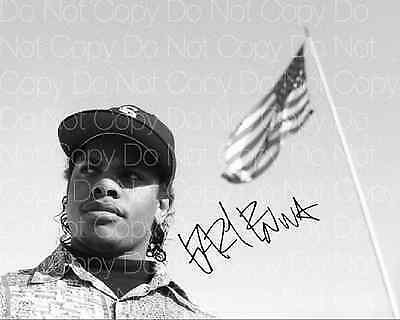 Eazy E signed NWA Straight Outta Compton 8X10 photo picture poster autograph RP