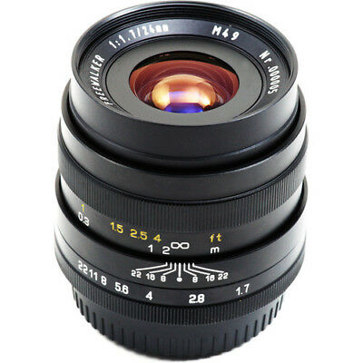 Mitakon Zhongyi 24mm f/1.7 Freewalker Prime Lens for MFT