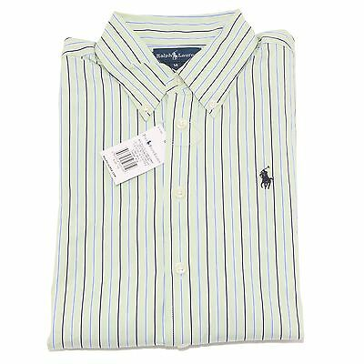 7260S camicia righe bimbo RALPH LAUREN  manica lunga stripes shirt kid