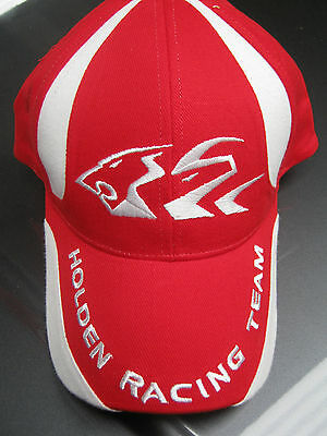 Holden Racing Team / Men's Classic Cap / Red With Tag / One Size Fits All