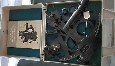 Vintage Master Sextant Calculate Location And Altitude Davis Instrument