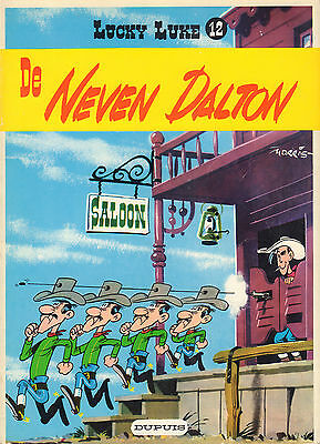 Lucky Luke 12 - De Neven Dalton