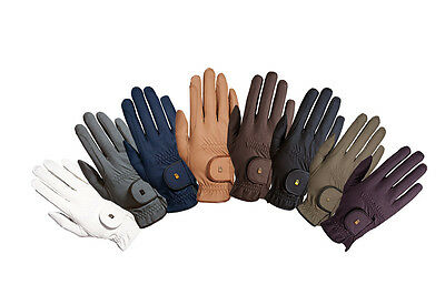 Roeckl Grip Chester Riding Gloves CHILD or ADULT 10 colours + Worldwide Shipping