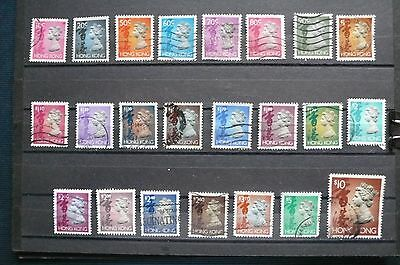 Hong Kong (1992-96) QEII Definitive Stamp, used