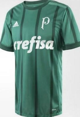 Palmeiras SP home limited anniversary edition soccer Brazil jersey