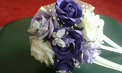 Bridesmaids Flower Girl Bouquet Wand With Butterflies*** All Colours***