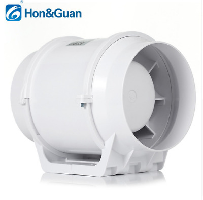 """4"""" Duct Fan Hydroponic Bathroom Grow Wet Extractor Booster Vetilation Blower"""