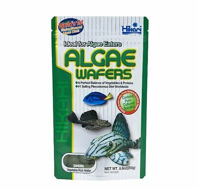 HIKARI ALGAE WAFERS 20g 40g 82g 250g 1kg CATFISH PLECO WAFER TROPICAL FISH FOOD