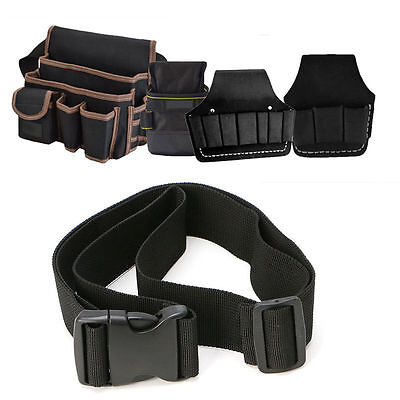 Pocket Storage Nylon Belt Bag Pouch Holder Organizer Electrician Contractor Tool