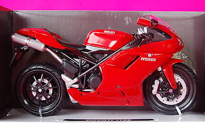 DUCATI  1198  RED  1/12th  MODEL  MOTORCYCLE