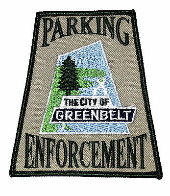 GREENBELT - PARKING ENFORCEMENT -MARYLAND MD Police Sheriff Patch EVERGREEN TREE