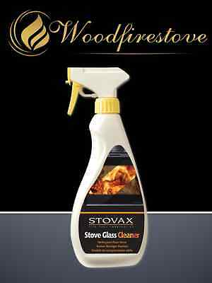 STOVAX - WOOD HEATER / STOVE Glass Cleaner (500 ML Pump) AU STOCK *FREE SHIPPING