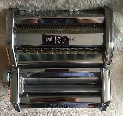 Imperia pasta machine in box Quality Italina pasta maker Lasagne Duplex cutter