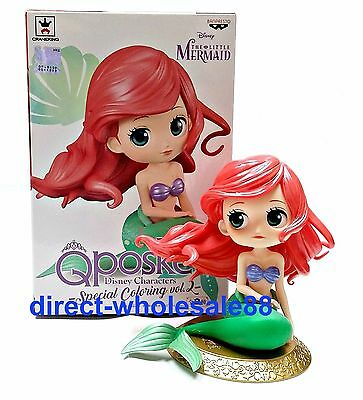 Banpresto Q posket Disney Ariel Figure The Little Mermaid Special Coloring