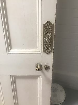 Old Victorian Internal Door painted white
