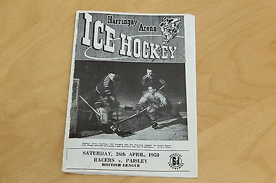 Haringey Racers v Chelmsford Chieftans - Ice Hockey - 2nd September 1990