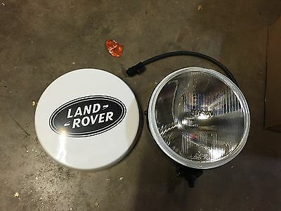 Land Rover Defender Spot Light Driving Light With Cover  Genuine  LR006817 NEW