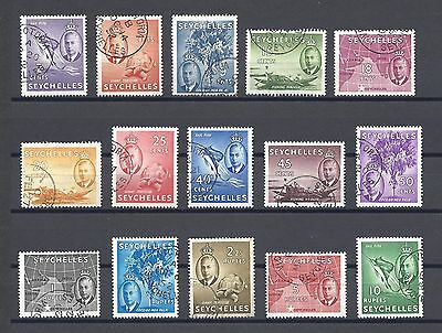 SEYCHELLES 1952 158/72 USED Cat £110