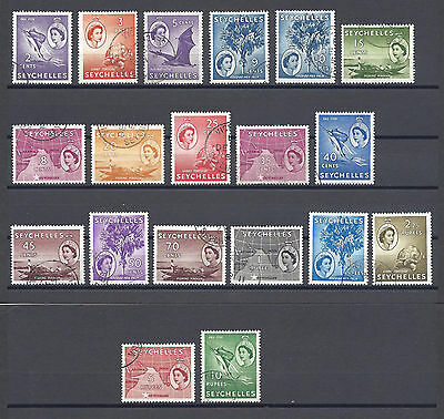SEYCHELLES 1954 174/88 USED Cat £55
