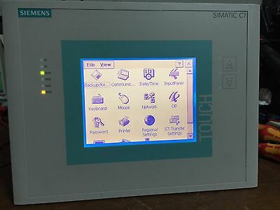 SIMATIC C7-635 TOUCH SPS 6ES7 635-2EB02-0AE3 Siemens E-Stand 01