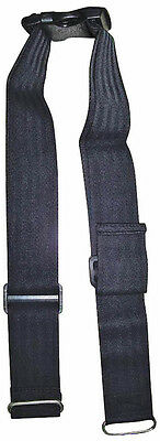 Wheelchair & Mobility Scooter Safety Lap Strap / Seat Belt - Black