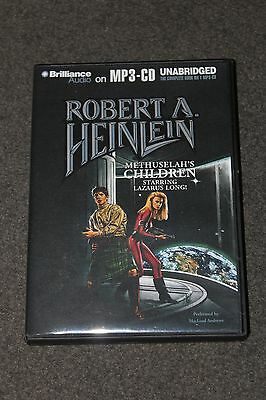 Methuselah's Children (MP3-CD) by Robert A. Heinlein, Lazarus Long asimov pohl