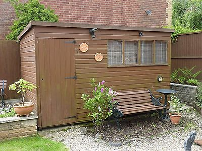 Garden shed 12' x 6', Pent roof