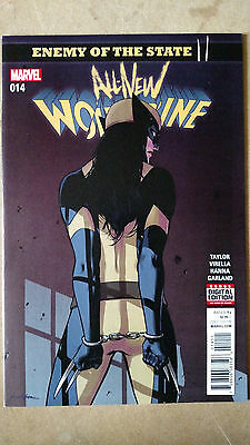 All New Wolverine #14 1St Print Marvel Comics (2017) Enemy Of The State  X-23