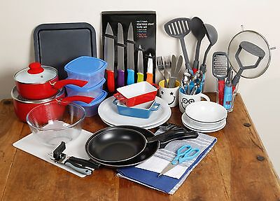 Student Kitchen Pack (bundle of kitchen essentials suitable for new homes)