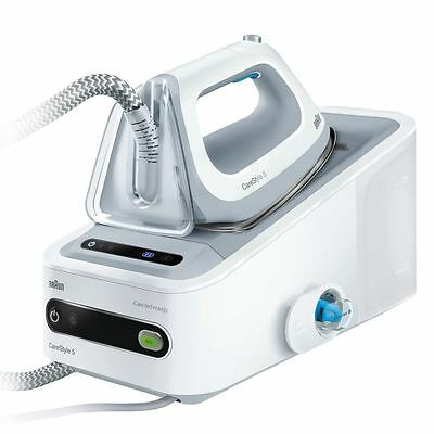 Braun CareStyle 5 IS5042 Steam Generator Iron System Eloxal 3D, 2400W 1.4L 6 Bar