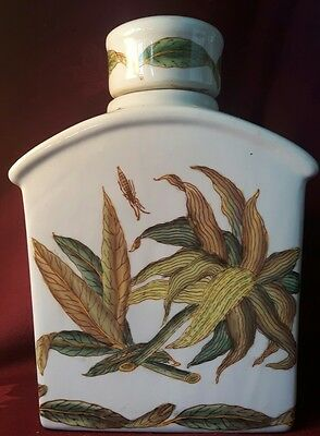 Vintage Chinese Tea Jar / Caddy - Signed